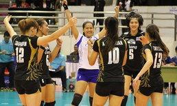 สะใจ!สาวไทยตบญี่ปุ่น3:0ซิวแชมป์วอลเลย์เอเชีย