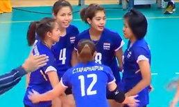 ติดตามซีเกมส์2013!ลูกยางสาวไทยลิ่วชิงทองตบอิเหนา3-0