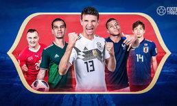 สุดในรุ่น! : 10 เรื่องที่คุณอาจจะยังไม่รู้ในฟุตบอลโลก 2018