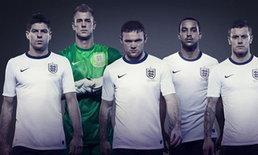 ทีมชาติอังกฤษเผยเบอร์เสื้อ-เจอร์ราร์ด4วิลเชียร์7