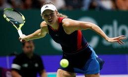 """""""วอซซี"""" ทุบ """"สวิโตลินา"""" เทนนิส WTA ไฟนอลส์"""