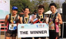 """นักวิ่ง 2,000 คนตบเท้าเข้าร่วม """"กรุงศรีอยุธยา คิซูน่า เอกิเด้ง"""" วิ่งผลัด """"เท่..สวย..สุขภาพดี"""""""