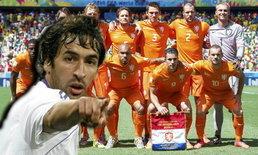 ราอูลยกกังหันดูดีสุดในบรรดาทีมยุโรป