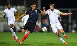 เล่นแบบไร้คนดู! โครเอเชีย เจ๊าจืด อังกฤษ 0-0 ศึกยูฟ่า เนชั่นส์ ลีก