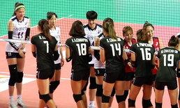 สุดมันส์! ลูกยางสาวไทย ตบ เกาหลีใต้ 3-2 ศึกโคเรีย-ไทยแลนด์ฯ แมตช์แรก