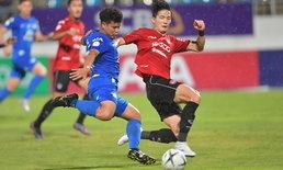 โค้ชเตี้ยประเดิมสวย! ชลบุรี รัวดับ เมืองทอง 2-0 เก็บสามแต้มในบ้าน