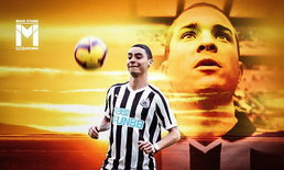 Goal โมเดล : ซานติอาโก้ มูเนซ - มิเกล อัลมิร่อน 2 แข้งนิวคาสเซิ่ลจากโลกคู่ขนาน