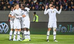 """""""ชิรูด์"""" ซัดโทษนำชัย! ฝรั่งเศส บุกเชือด ไอซ์แลนด์ 1-0 คัดยูโร กลุ่มเอช"""