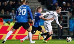 ตัวน้อยกว่าไม่มีผล! เยอรมนี 10 ตัวบุกรัว เอสโตเนีย 3-0 คัดยูโร