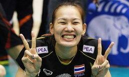 """ยังฮอต!! ลีกลูกยางอินโดนีเซีย สนดึง """"อำพร"""" ร่วมทีม"""