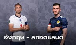 พรีวิวฟุตบอล ยูโร 2020 รอบแบ่งกลุ่ม : อังกฤษ พบ สกอตแลนด์