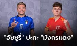 พรีวิวฟุตบอล ยูโร 2020 รอบแบ่งกลุ่ม : อิตาลี พบ เวลส์