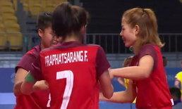 เหนือชั้น! ตะกร้อหญิงไทยซิวทองอัดเมียนมา 2-0 เกม
