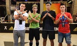 """อาดิดาส มอบรางวัลสองนักเตะไทยในกิจกรรม """"Destroy vs Control in Bangkok"""""""