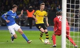 เสือเหลือง บุกถล่ม แฮร์ธ่าฯ 3-0 ทะลุชิงเสือใต้ DFB