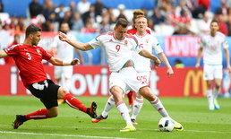 """หักปากกาเซียน! """"ฮังการี"""" คว่ำ """"ออสเตรีย"""" 10 คน 2-0"""