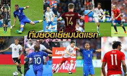 ทีมยอดเยี่ยม ยูโร 2016 นัดแรก