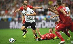 """เจาะไม่เข้า! """"อินทรีเหล็ก"""" แค่เจ๊า """"โปแลนด์"""" 0-0"""