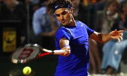 เฟดเอ็กซ์ แพ้กาสเกต์ ร่วงรอบ3เทนนิสโรม