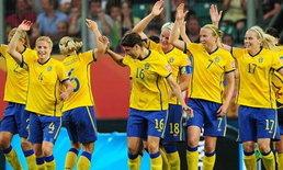 สาวไวกิ้งเชือดสหรัฐฯ2-1ควงคู่ฉลุยบอลหญิงโลก