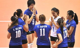 """7 สาวไทยยังแจ๋ว! พา""""อิกติซาดชิ""""แซงดับแชมป์เก่าสุดมันส์ในวอลเลย์ฯลีกอาเซอร์ฯ"""