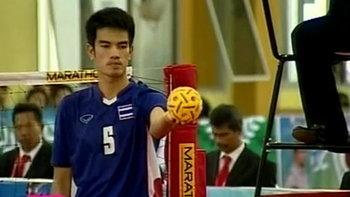 คลิปซีเกมส์ ตะกร้อชายทีมชาติไทย - อินโดนีเซีย
