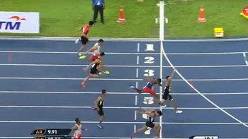 หนุ่มมาเลย์,สาวเวียดนาม คว้าทอง วิ่ง 100 เมตร ซีเกมส์