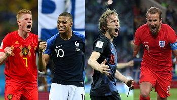 ได้ครบ 4 ทีม! ส่องโปรแกรมรอบรองชนะเลิศฟุตบอลโลก 2018