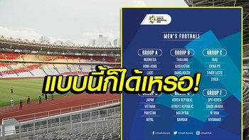คอมเมนท์แฟนเอเชีย! หลังรู้ผลการแบ่งกลุ่มฟุตบอลชายเอเชียนเกมส์ 2018