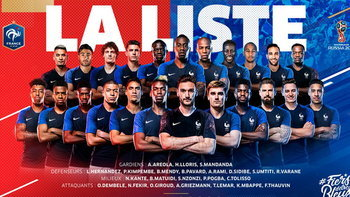 สตาร์ดังหลุดเพียบ ! ประกาศรายชื่อ 23 ขุนพลทีมชาติ ฝรั่งเศส ลุยศึก ฟุตบอลโลก