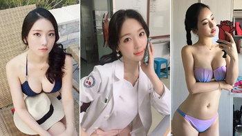 """เอ็นมันตึงไปหมด! """"จอง อา-ยุน"""" นักกายภาพสาวสุดเซ็กซี่แดนโสม (อัลบั้ม)"""