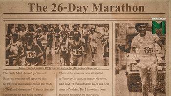 ตำนานวิถีซามูไร : คิโมะ นาคานิจิ นักวิ่งที่วิ่งไม่หยุด 26 วันในลอนดอน มาราธอน