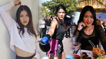 """หนึ่งเดียวจากไทย! """"ซาซ่า ศ.อารีย์"""" นักกีฬาหญิงในงานหนังเมืองคานส์ (ภาพ)"""