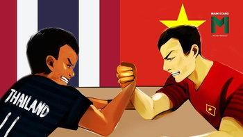 """""""ศัตรูที่รัก"""" ไทยกับเวียดนาม สามารถพัฒนาวงการฟุตบอลร่วมกันได้อย่างไร?"""