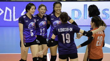 น่าเสียดาย! สาวไทย สู้สุดใจพ่าย เกาหลีใต้ 1-3 เซต ศึกลูกยางชิงแชมป์เอเชีย