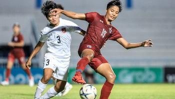 ชบาแก้ว ทุบ เมียนมา 3-1 ลิ่วป้องแชมป์อาเซียนหญิง 2019