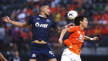 พีทีที ระยอง บุกแบ่งแต้ม ราชบุรี 1-1 ศึกโตโยต้า ไทยลีก 2019