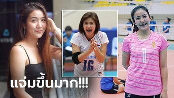 """โตเป็นสาวแล้ว! """"น้องป็อป-นริศรา"""" อดีตนักตบลูกยางยุวชนทีมชาติไทย (ภาพ)"""