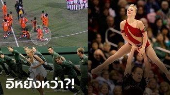 มุมกล้องพาลั่น! ช็อตเด็ดกีฬาโลก โหด มัน ฮา จนคุณต้องหยุดดูให้ดี (ภาพ)