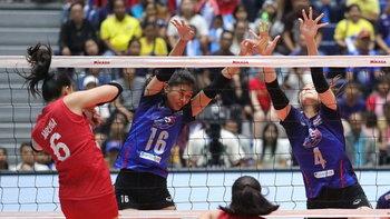 คว้าชัยสองนัด! ตบสาวไทย อัด ฟิลิปปินส์ 3-1 เซต ลูกยางแซท-ไทยแลนด์ 2019