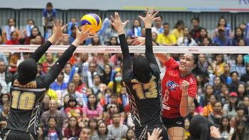 """ซิวแชมป์ อาเซียน กรังด์ปรีซ์ 2019 """"นักตบสาวไทย"""" ทิ้งทวนคว่ำ อินโดนีเซีย 3-1"""