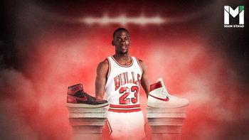"""5000 แลก 100 ล้าน : """"Air Jordan I"""" รองเท้ารุ่นตำนานที่ Nike หักเหลี่ยม NBA จนกำไรเละ"""
