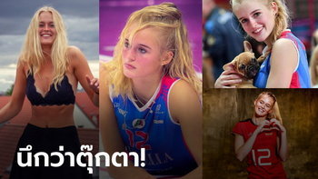 """เห็นแล้วเคลิ้ม! """"ออร์ธมันน์"""" ตบสาวสุดน่ารักทีมชาติเยอรมนี (ภาพ)"""