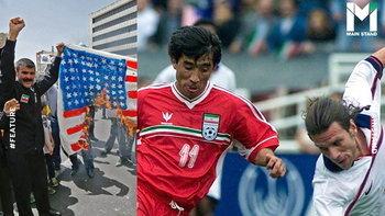 """กระชับมิตรของจริง : """"อิหร่าน-สหรัฐฯ 2000"""" เกมฟุตบอลแห่งสันติภาพที่โลกลืม"""