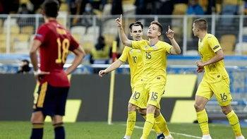 ยูเครน ฟอร์มเด็ด เปิดรังเชือด สเปน 1-0 ศึกเนชั่นส์ลีก