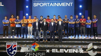 ZENSE จับมือ ELEVEN SPORTS ถือลิขสิทธิ์ถ่ายทอดฟุตบอลไทย 8 ปี ทั้งลีกอาชีพ, ทีมชาติทุกชุด