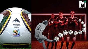 """ไขคำตอบจากฟิสิกส์ : ทำไม """"จาบูลานี"""" ถึงได้ชื่อว่าเป็นลูกบอลที่เลวร้ายที่สุดของฟุตบอลโลก ?"""