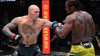 """จบแค่ยกแรก! """"สมิธ"""" ใส่ซับมิทชัน """"สปันน์"""" ขอยอมแพ้ ศึก UFC FIGHT NIGHT"""