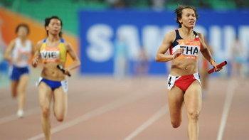 4x100ไทยชาย-หญิงเจ๋งทะลุชิงทองศุกร์นี้