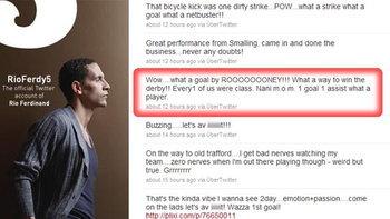 ริโอ ไม่พลาดทวิตเตอร์ ชมลูกตีลังกายิง รูนี่ย์